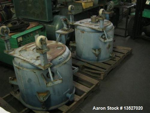Used- Jaygo Planetary Mixer, Model MPVD200, 200 liter