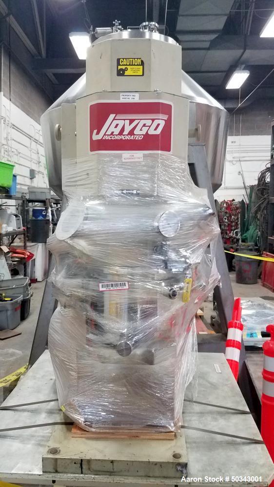 Used- Jaygo Double Planetary / Multi-Shaft Mixer