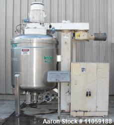 Used- 2400 Liter Fryma VME-2400 Vacuum Processing Vessel. Sanitary construction, 2400 Liter (630 Gallon) working capacity. W...