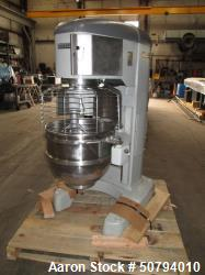 Used- Hobart HL800-1STD 80 Quart Planetary Mixer