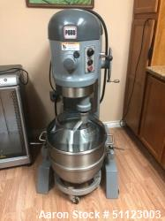 Used- Hobart 60 Quart Floor Mixer