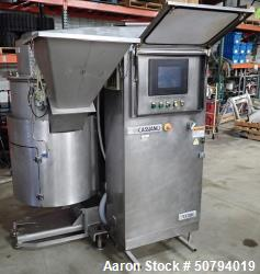 Used-Sancassiano 300-Liter Removable Bowl C-shape Planetary Mixer