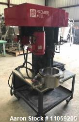 Used- 2 Gallon Premier Mill Dual Shaft Vacuum Mixer.