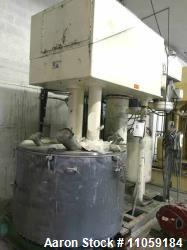Used Ross Model PVM300 dual motion stainless steel mixer.  Mixing capacity 150 to 300 gallon. Full capacity 398 gallon.  Sta...