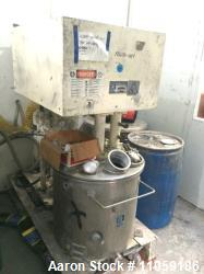 Used- Ross Model PVM 40 dual motion stainless steel mixer. 40 gallon. Stainless steel jacketed change can 50 psi. Vacuum mix...
