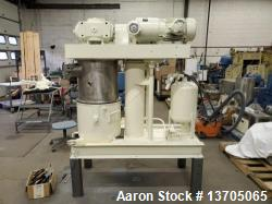 Used-Ross Model HDM-10 Vacuum Jacketed Double Planetary Mixer