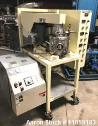 Used- Ross Model PVM-2, Triple Motion Stainless Steel Mixer. 2 gallon. Stainless steel jacketed change can. Tri-Shaft Vacuum...