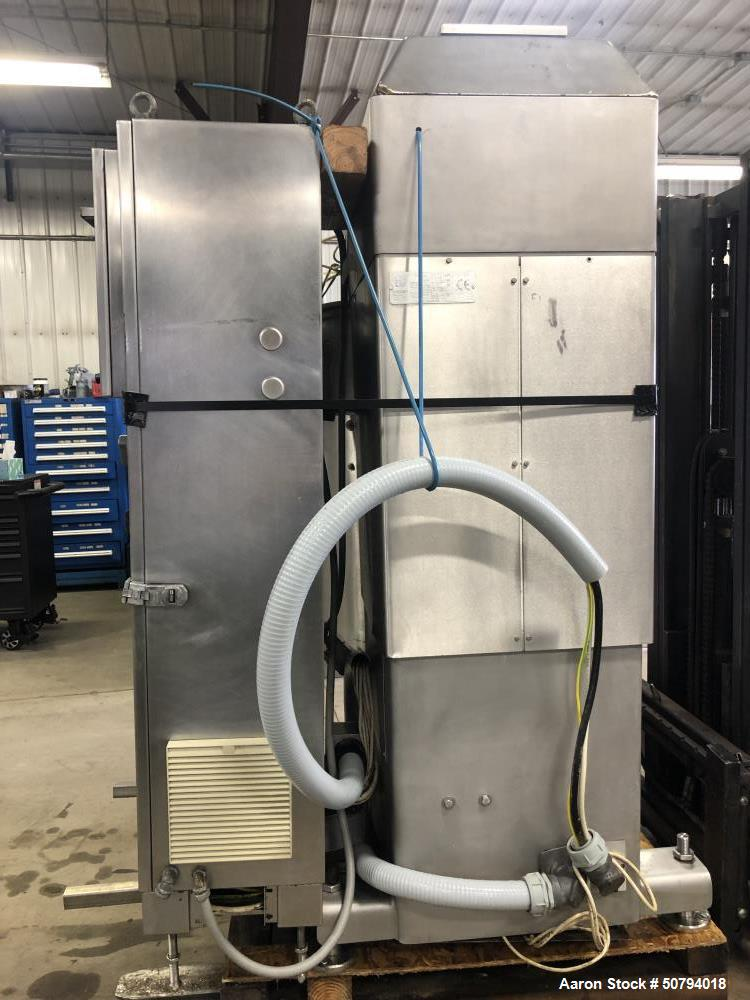 Used- Sancassiano 300-Liter Removable Bowl C-shape Planetary Mixer