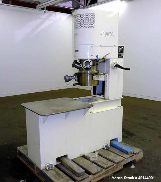 Used- Premier Mill Planetary Mixer, Model PLM5, 304 Stainless Steel.