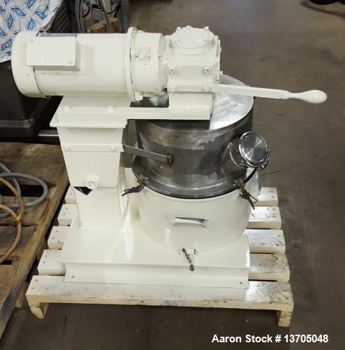 Used- Ross Double Planetary Mixer, Model 130-ELS. Vacuum, 4 gallon capacity. Stainless steel construction with teflon coatin...