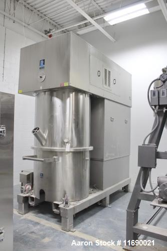 Used- Ross 150 Gallon Stainless Steel Double Planetary Mixer