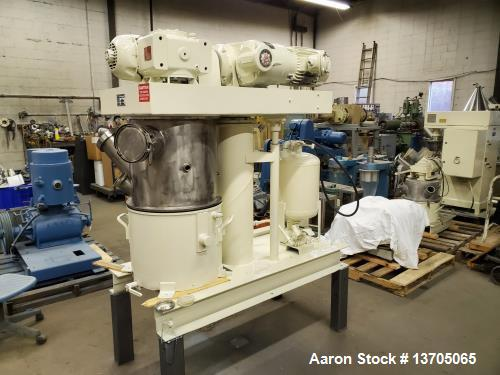 Used- Ross Model HDM-10 Vacuum Jacketed Double Planetary Mixer