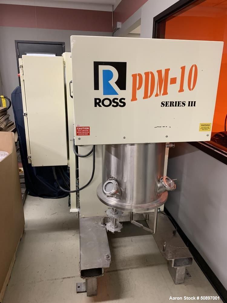 Used- Ross Mixer, Model PDM-10.