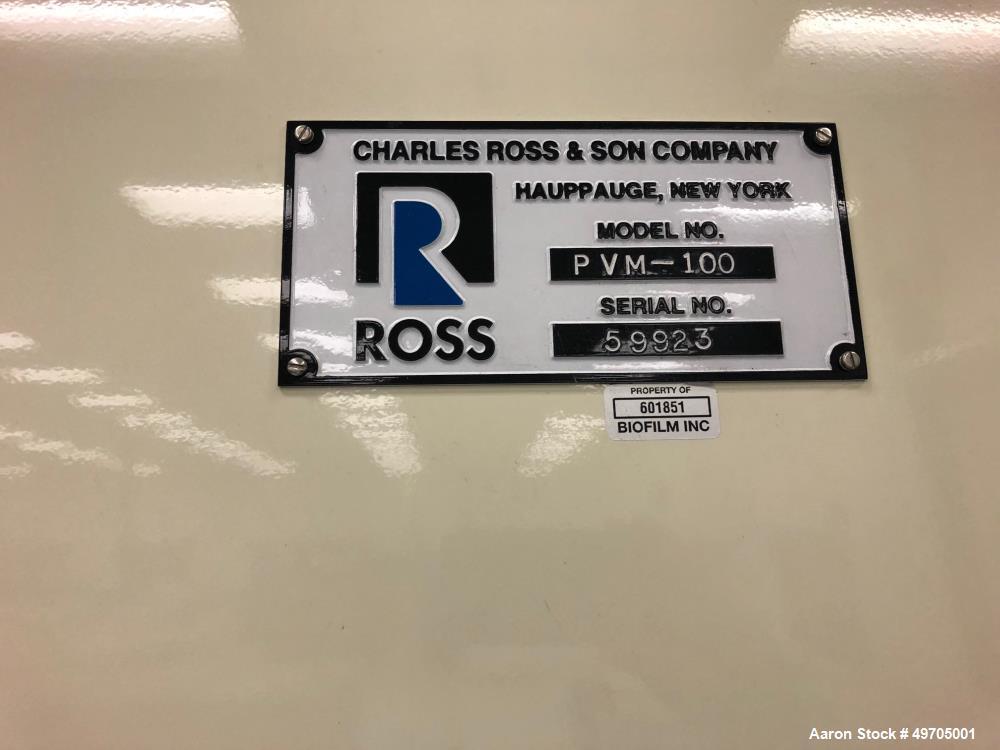 Used- Ross Versa Mix, Model PVM-100