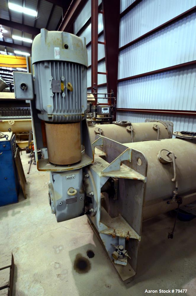 American Process Cylindrical Plow Mixer