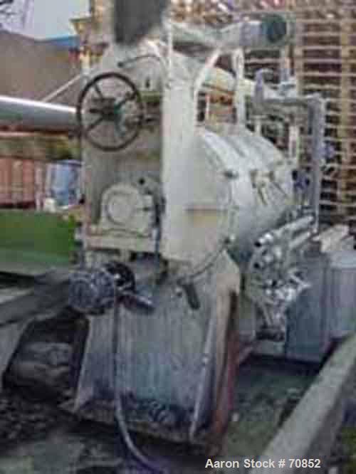 Used- Hagen & Rinau Unimix Plow Mixer/Dryer, Type HSM 800