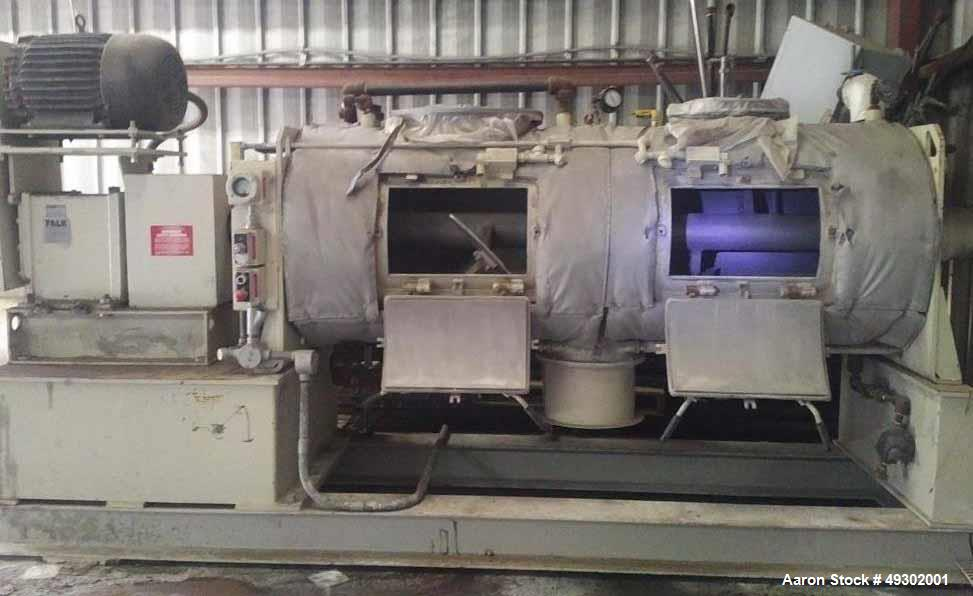 Used- Littleford Batch Type Plow Mixer, Model FKM-1200D-4Z