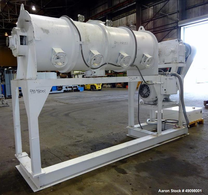 Used- Littleford Plow Mixer, Model FKM-1200D.