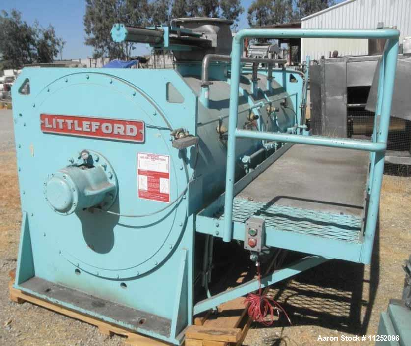 Used- Littleford Plow Mixer, Model FKM-4200-D