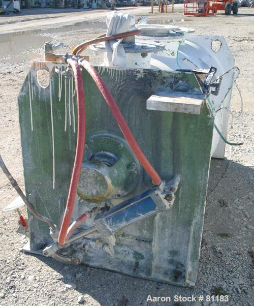Used: Stainless Steel Lodige Plow Mixer, Model FKM1200D, Batch Type.