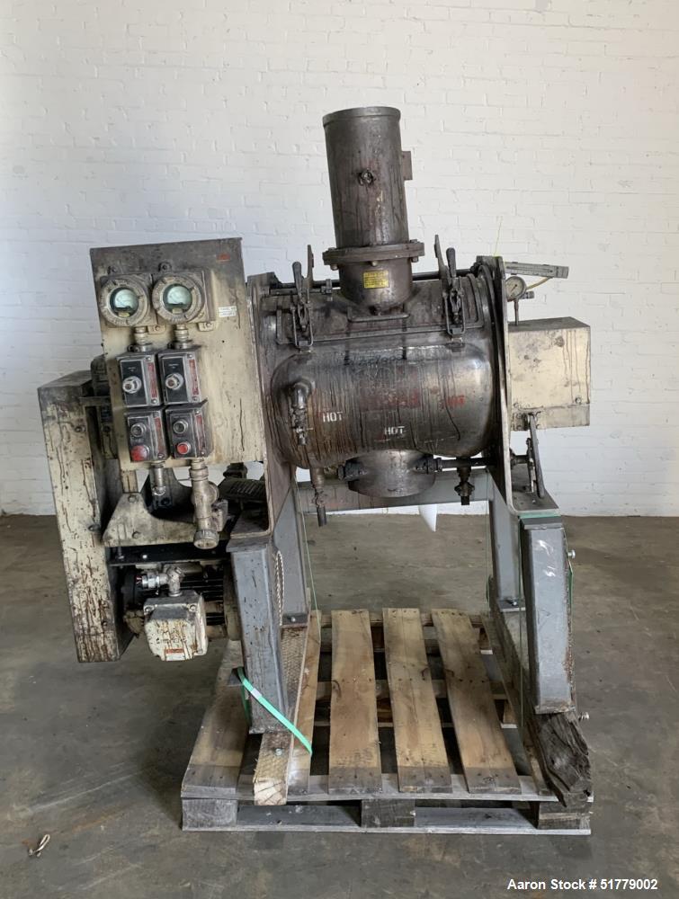 Littleford FM-130 Batch Type Plow Mixer
