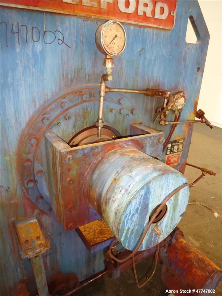 Used- Littleford Vacuum Dryer Plow Mixer, Model VT-4200-D, Total capacity 148.3