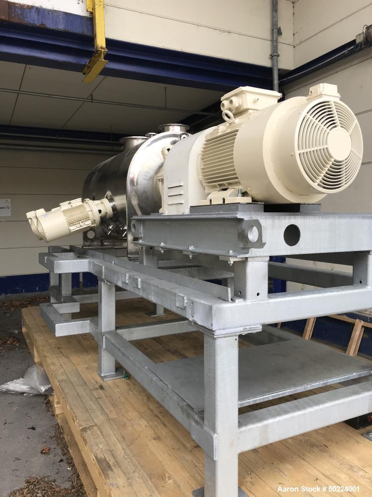 Used- Lodige Batch Type Plow Mixer, Model FKM-1200D-2MZ