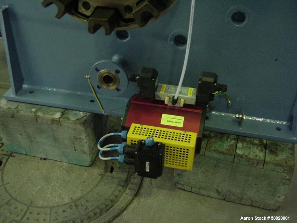 Used- Lodige Plow Mixer, Model FKM 2000D-3MZ