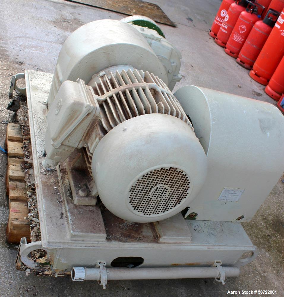 Used- Lodige Batch Type Plow Mixer, Model FKM-3000D-2MZ-2ZF