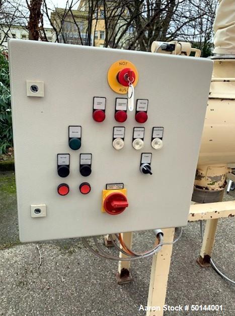 Used- Lodige Plow Mixer, Type FM 130D-1MZ