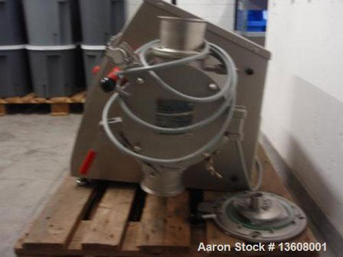 Used-Lodige Lab Size Ploughshare Batch Powder Mixer, type L5. Material of construction is stainless steel on product contact...