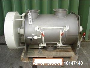 Used-Lodige Mixer.  Stainless steel on product contact parts.  Capacity 10.6 cubic feet (300 liters).  Trough size diameter ...