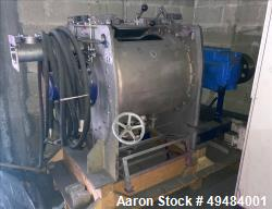 Used- Drais Plow Mixer/Dryer