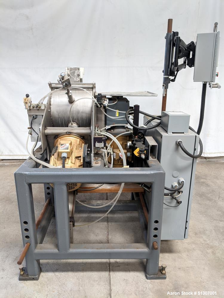 Used- Laboratory Plow Mixer, Approximate 1.5 Cubic Foot Capacity