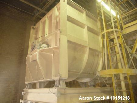 Used- Mixer, Approximately 400 cubic feet. SRL (Italy), Model MSNH160. New 2004, driven by 108 kw (144 hp), 480 volt, 60 her...
