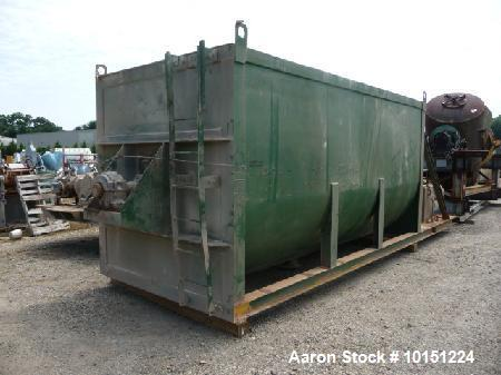 Used- Double Ribbon Mixer (steel).