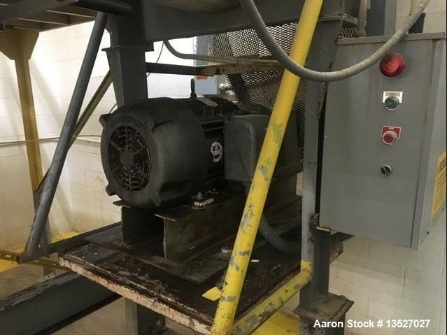 Used- Ribbon Blender approximate 65 Cubic Foot
