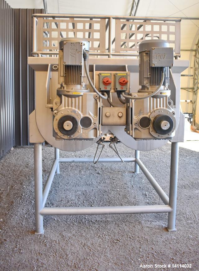 Used- A&M Process Equipment Double Ribbon Blender