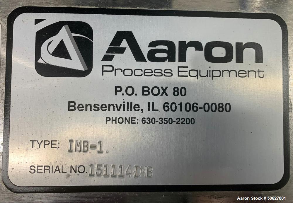 Used- Aaron Process Ribbon Blender