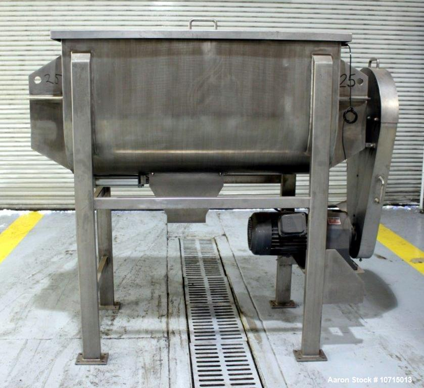 NEW- Paul O Abbe Model IMB-25. 25 Cubic Foot Ribbon Blender.