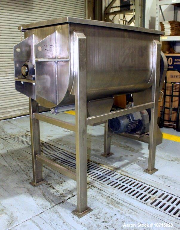 New- Paul O. Abbe Model IMB-25- 25 Cubic Foot working capacity Ribbon Blender.