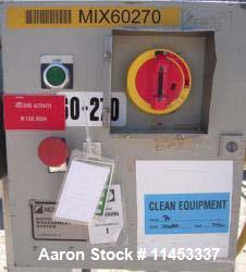 Used- Aaron Process Double Spiral Ribbon Blender.