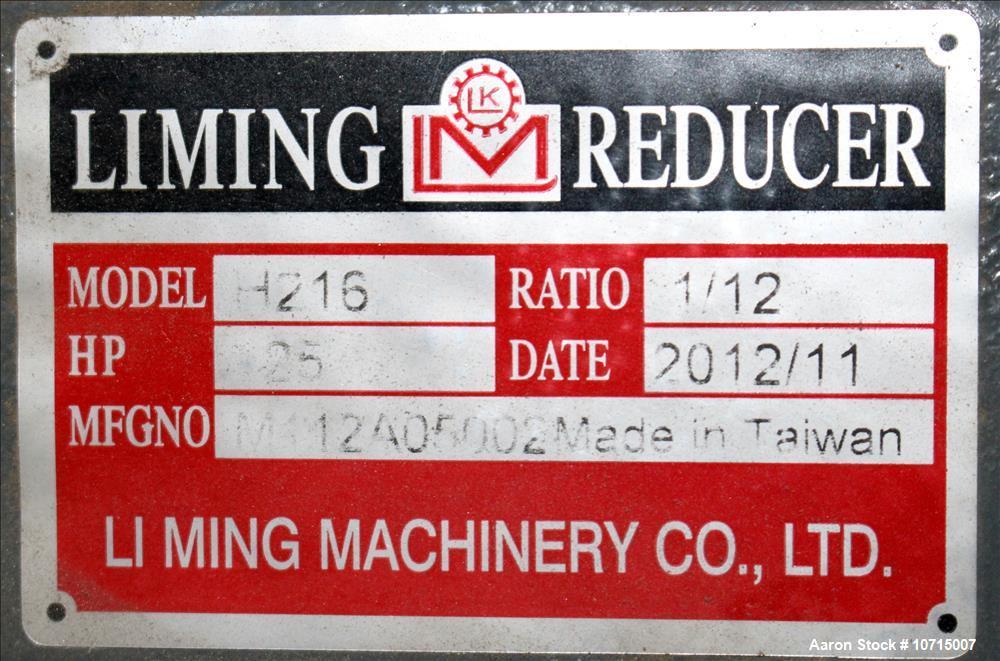 New- Paul O. Abbe Model IMB-75, 75 Cubic Foot working capacity Ribbon Blender.