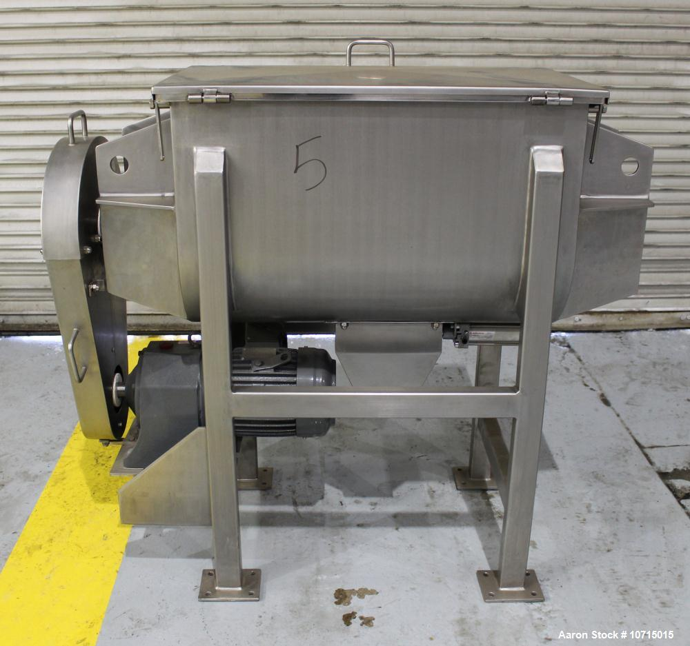 NEW- Paul O. Abbe Model IMB-5. 5 Cubic Foot Ribbon Blender.