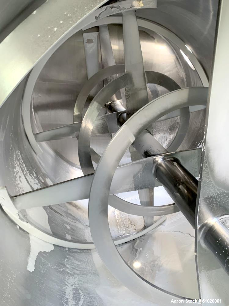 American Process Cylindrical Ribbon Blender, Model CRB-215