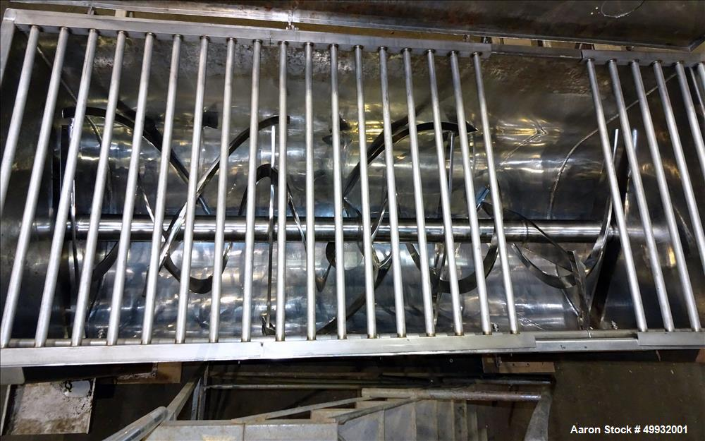 Used- American Process Heavy Duty Double Spiral Ribbon Blender, Model DRB-155, 1
