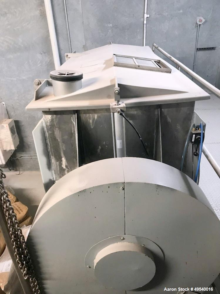 Used-American Process Ribbon Blender, Model DRB30.  2000 lb. Capacity.  Driven by a  50 HP Motor. ** SALE SUBJECT TO SELLER'...