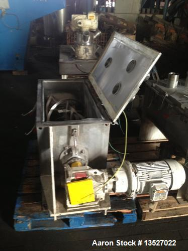 Used-Ross 5 Cubic Foot Double Ribbon Blender, Model 42A-5