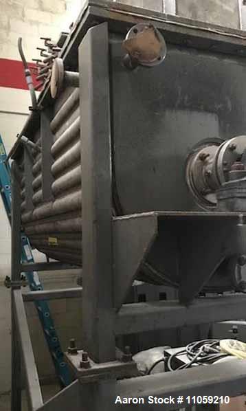 Used- Expert Industries 70 Cubic Foot Jacketed Vacuum Rated Ribbon Blender/Vacuu