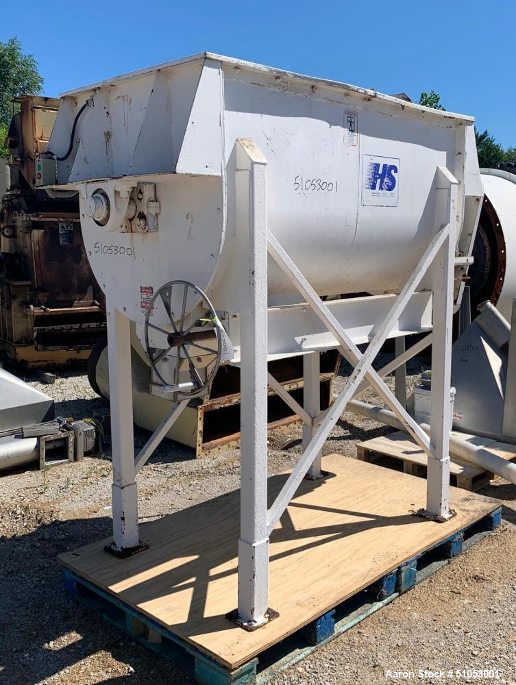 Used- Hayes & Stoltz Double Spiral Ribbon Blender / Mixer